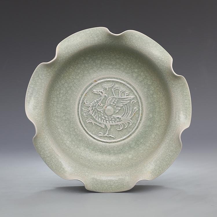 Chinese Ru kiln Porcelain Brush Washer