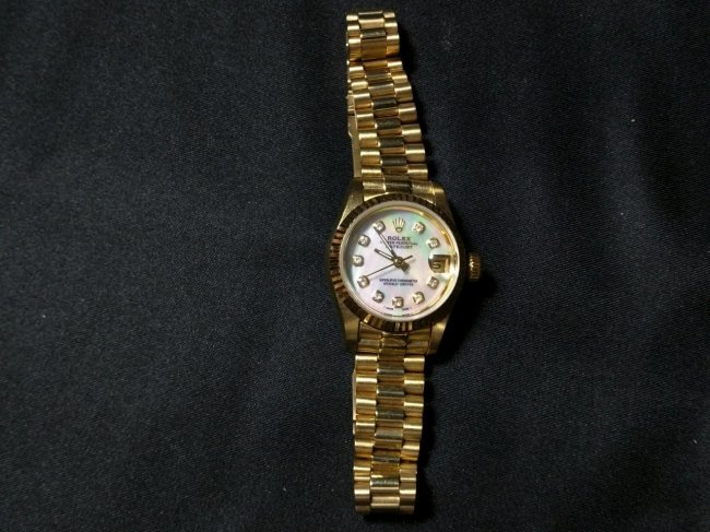 Knock off lady Rolex watch