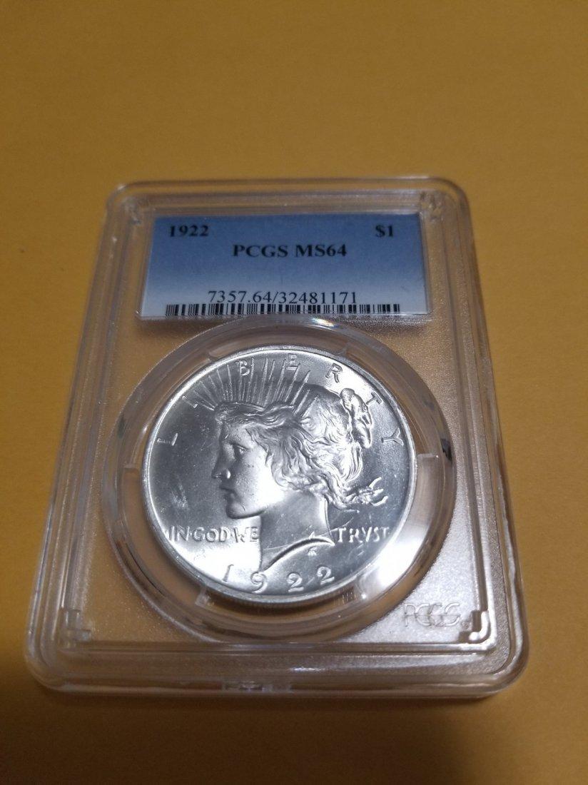 Silver liberty dollar coin