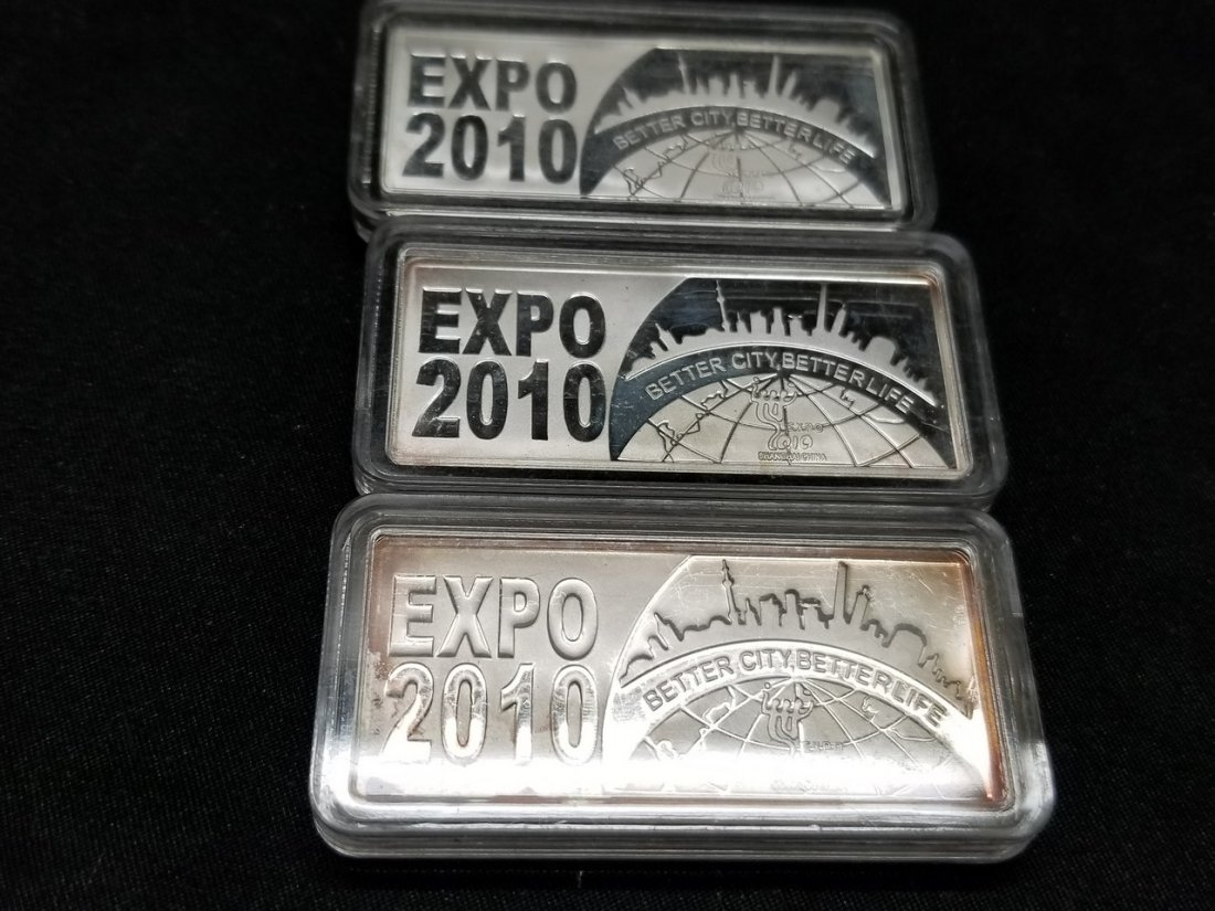 Collection of Chinese world fair sterling silver - 2