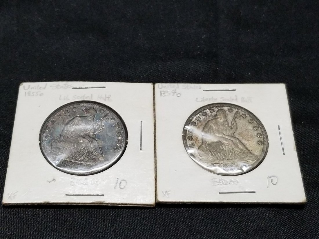 Early American silver coins