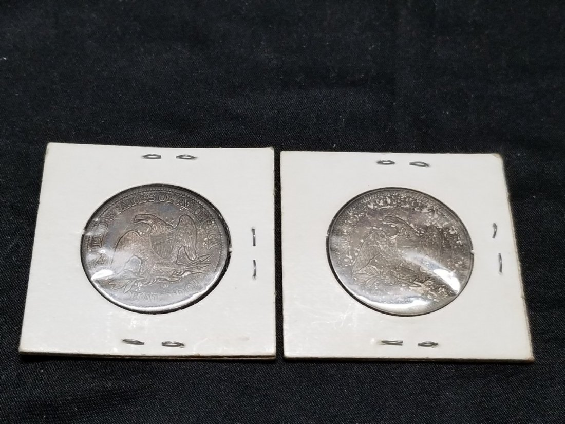 Early American silver coins - 2