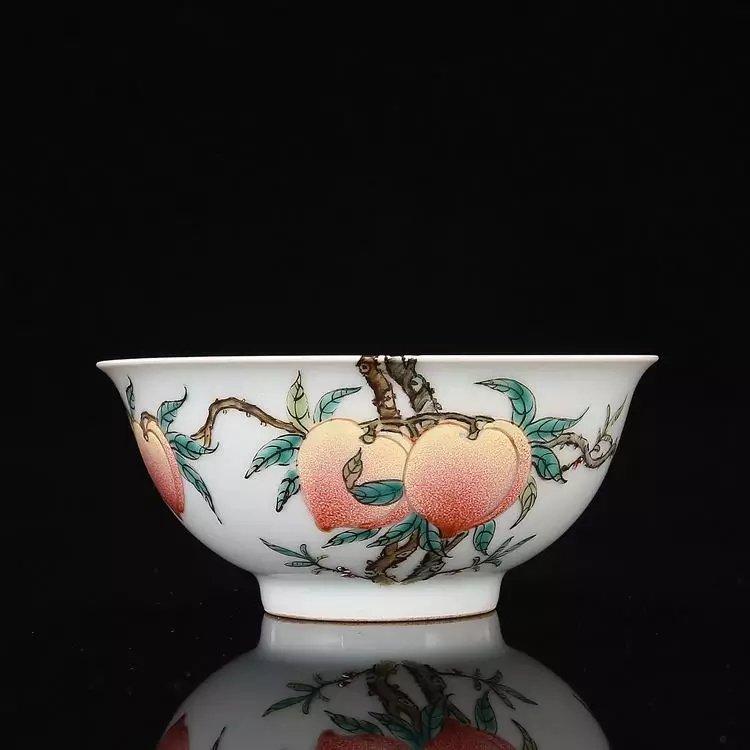 Rare Chinese famille rose porcelain bowl