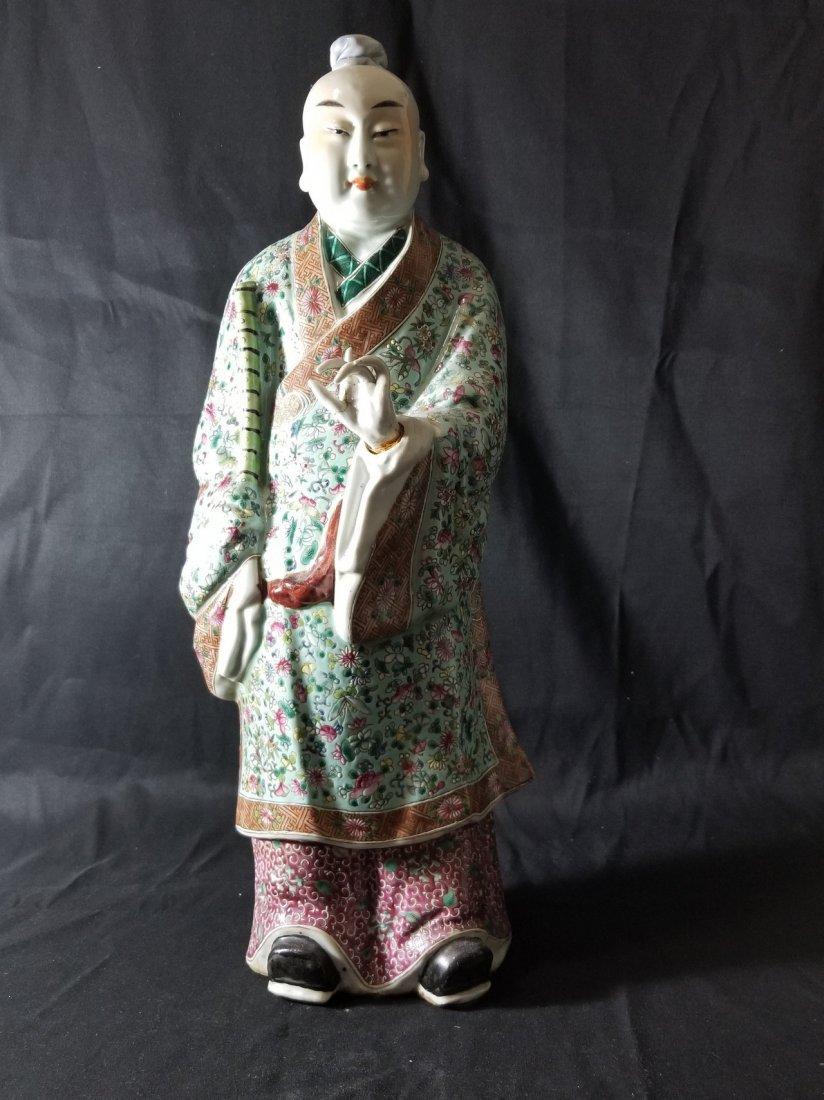 19TH century Chinese porcelain figure