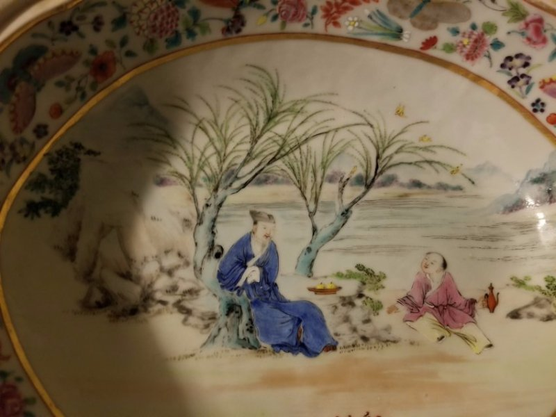 Excellent Chinese export porcelain cover bowl - 6