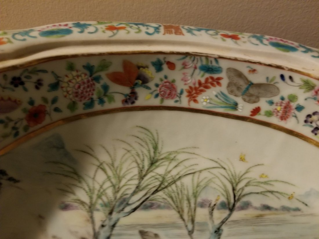Excellent Chinese export porcelain cover bowl - 9
