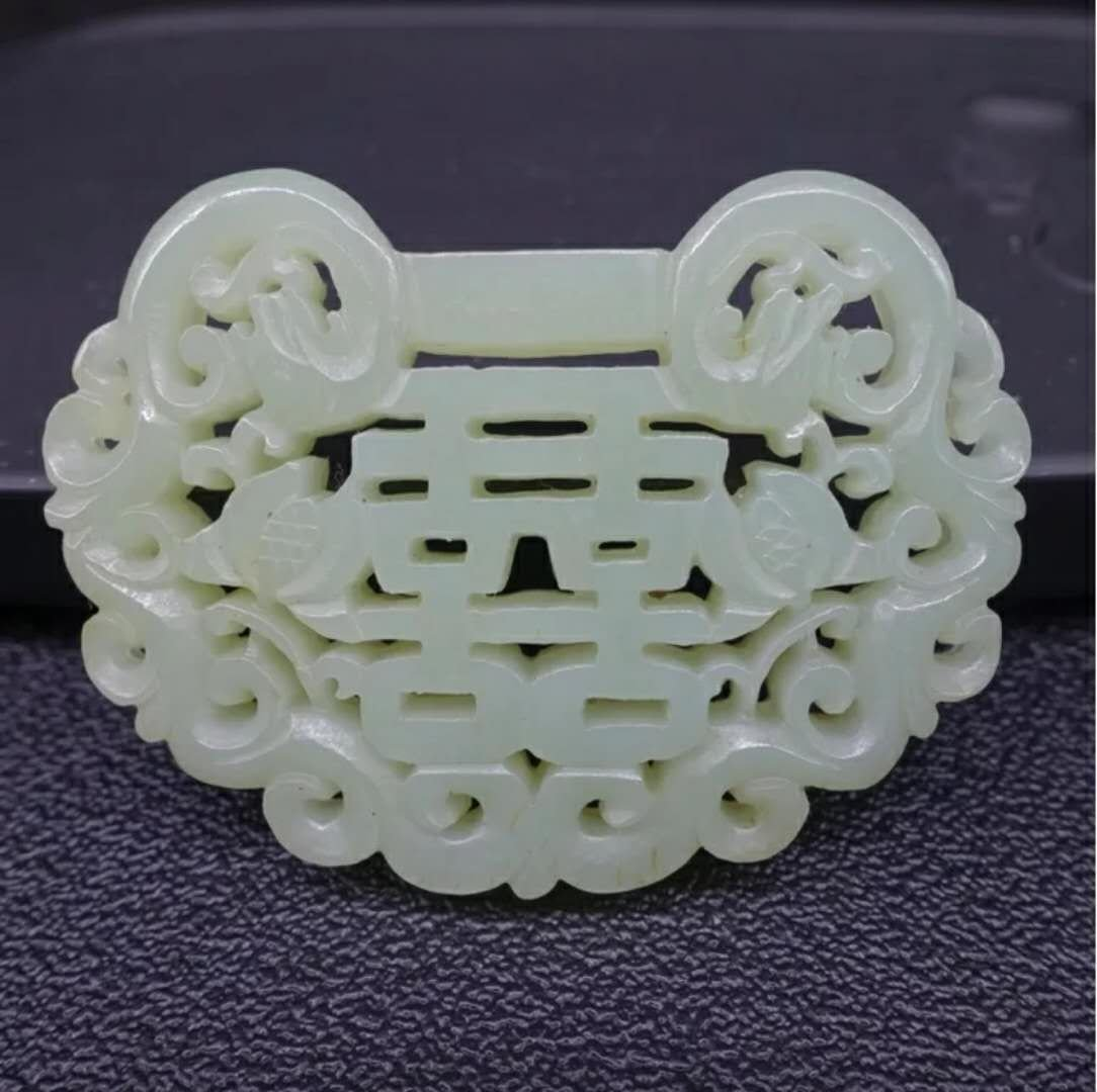 Excellent carved Chinese jade