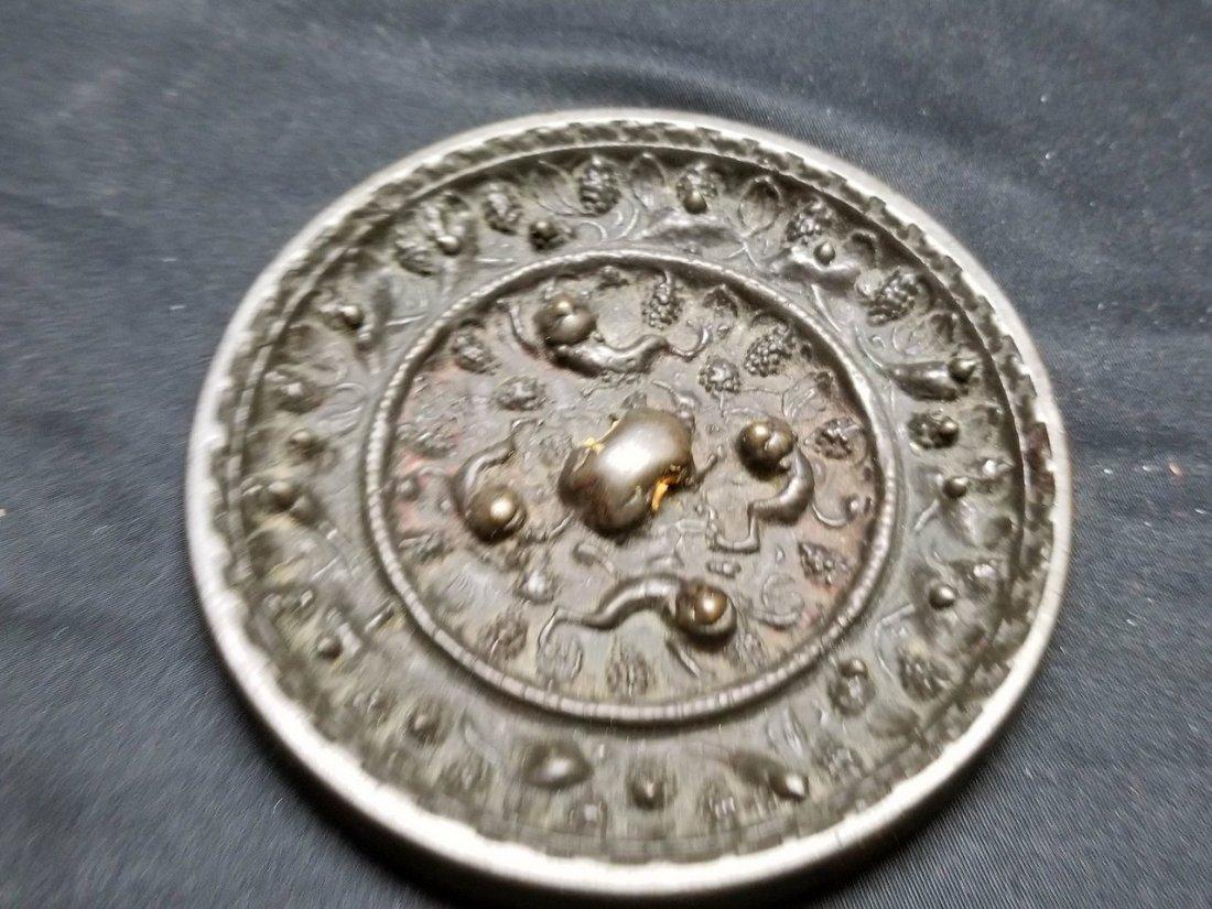 Excellent Chinese antique bronze mirror