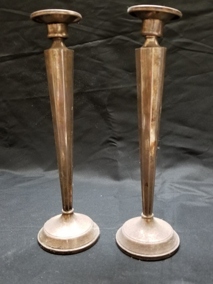 Vintage candle holders