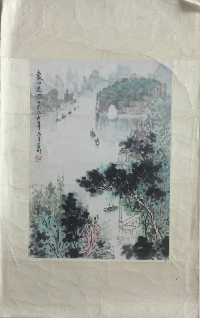 An excellent Chinese landscape painting
