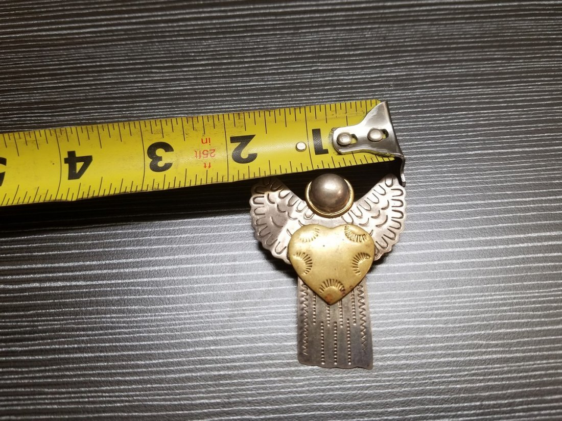 A sterling silver angel - 3