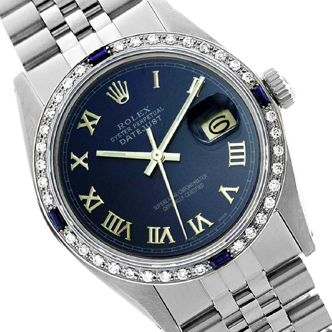 Rolex Ladies Stainless Steel, Roman Dial with