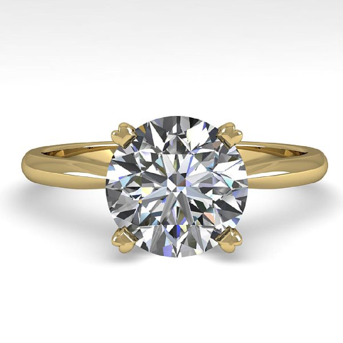 2 CTW Certified VS/SI Diamond Engagement Ring 14K