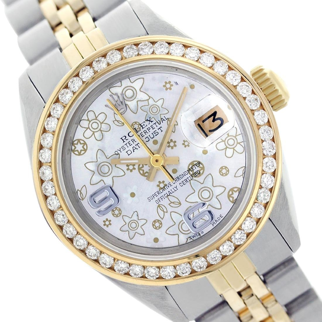 Rolex Ladies Two Tone 14K Gold/SS, Arabic Dial with