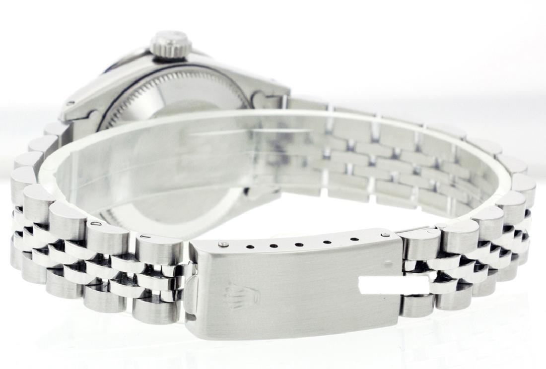 Rolex Ladies Stainless Steel, Diam Dial & Diam/Sapphire - 3