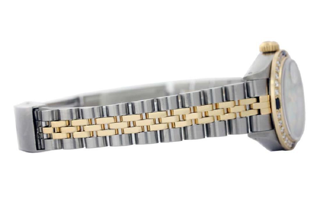 Rolex Men's Two Tone 14K Gold/SS, QuickSet, - 4