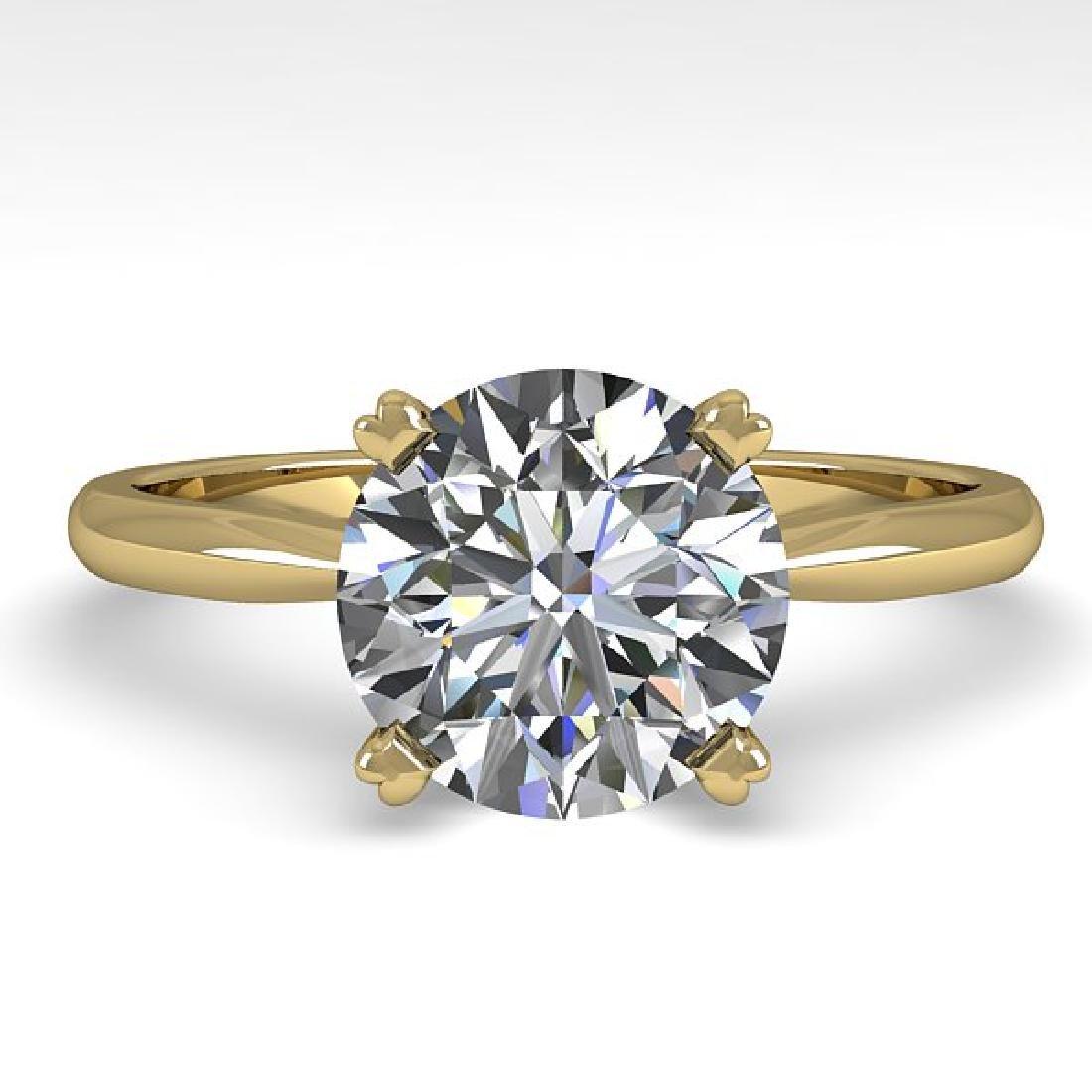 2 CTW Certified VS/SI Diamond Engagement Ring 18K