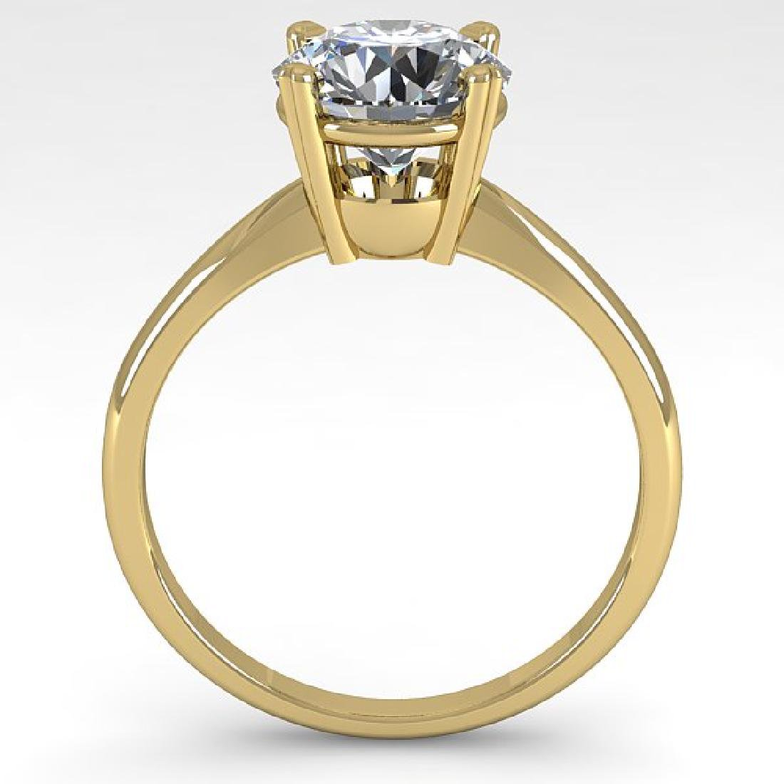 2 CTW Certified VS/SI Diamond Engagement Ring 18K - 3