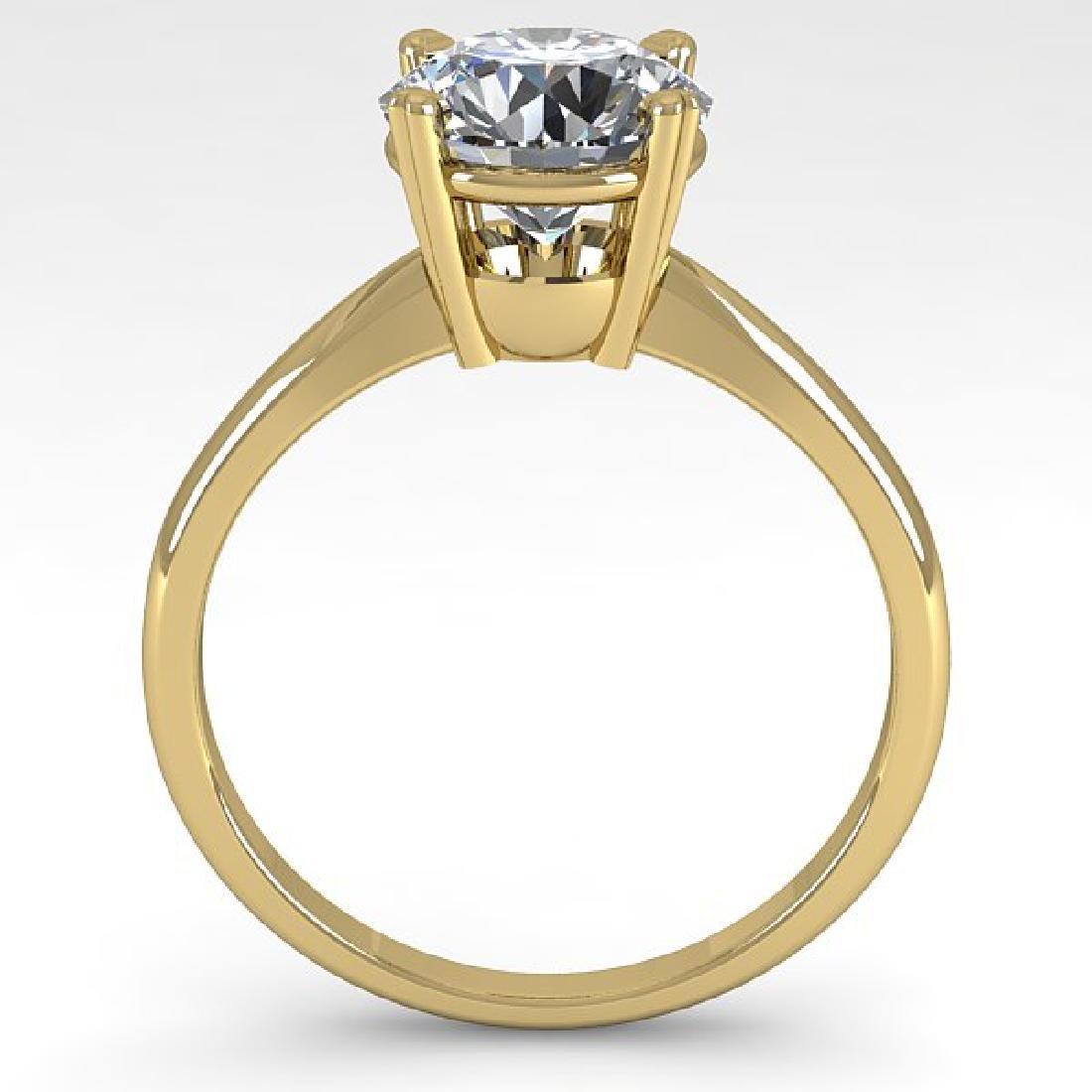 2 CTW Certified VS/SI Diamond Engagement Ring 18K - 3