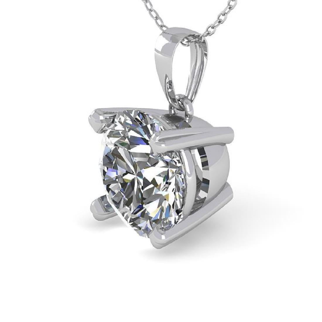 2 CTW Certified VS/SI Diamond Necklace 14K White Gold