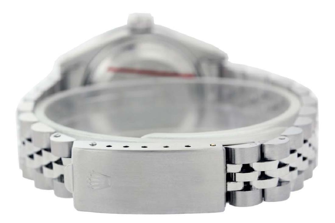 Rolex Ladies Stainless Steel, Diamond Dial & Diamond - 3