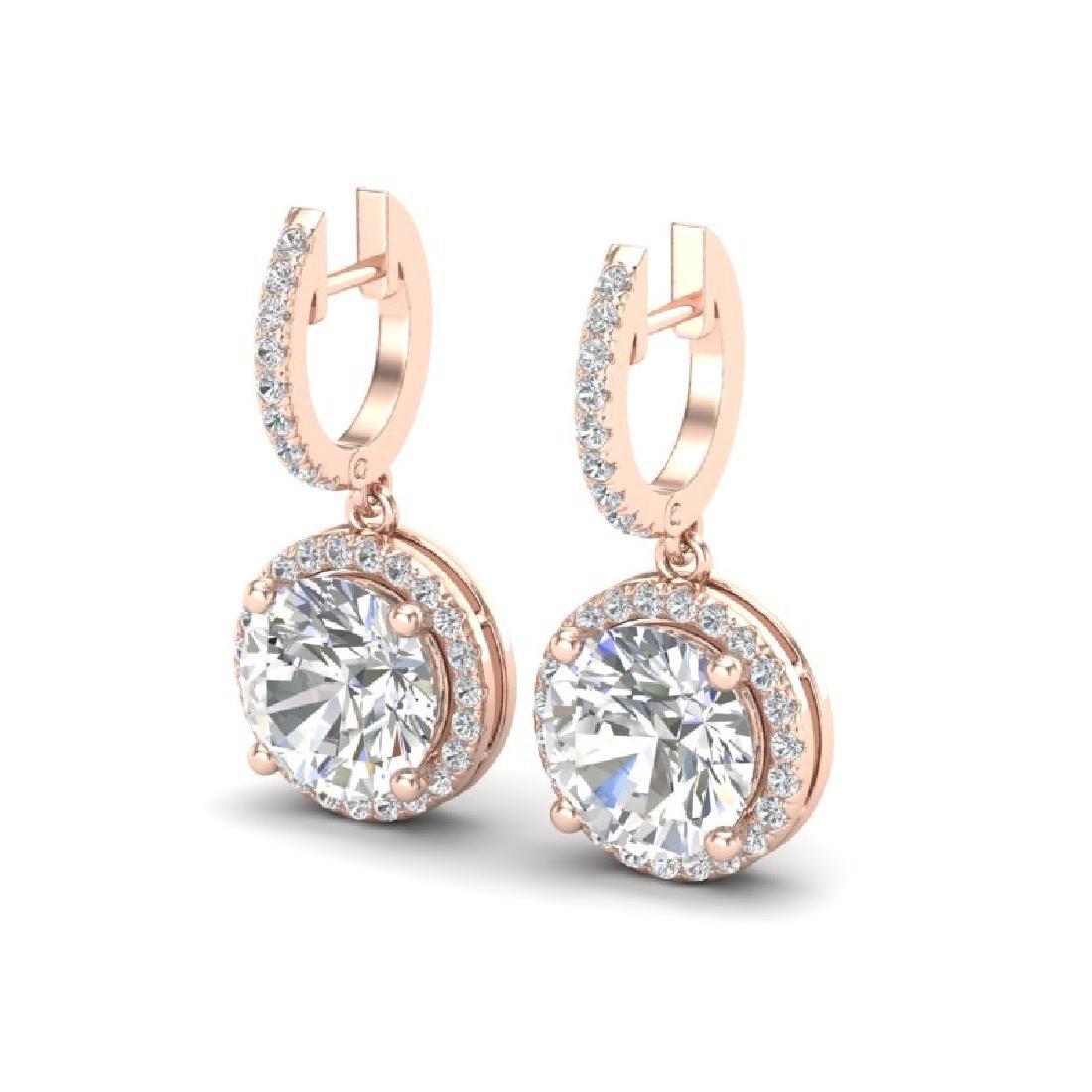 4.50 CTW VS/SI Diamond Designer 14K Rose Gold