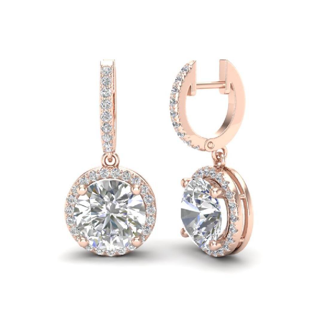 4.50 CTW VS/SI Diamond Designer 14K Rose Gold - 2