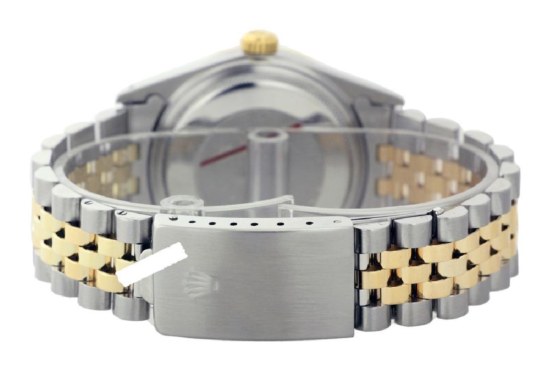 Rolex Men's Two Tone 14K Gold/SS, QuickSet, Diam Dial & - 4