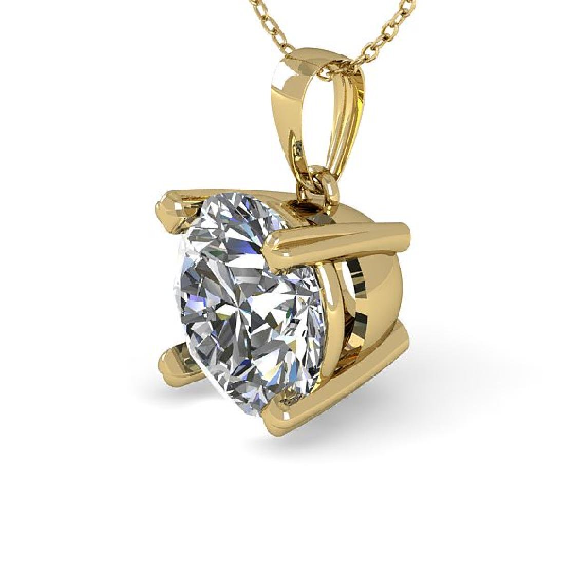 2 CTW Certified VS/SI Diamond Necklace 18K Yellow Gold