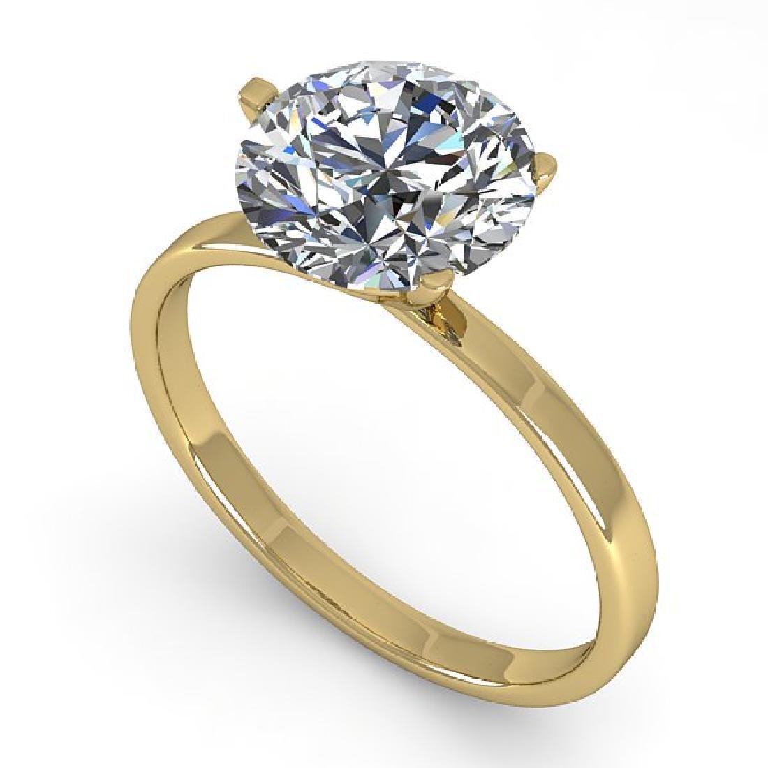 2 CTW Certified VS/SI Diamond Engagement Ring 14K