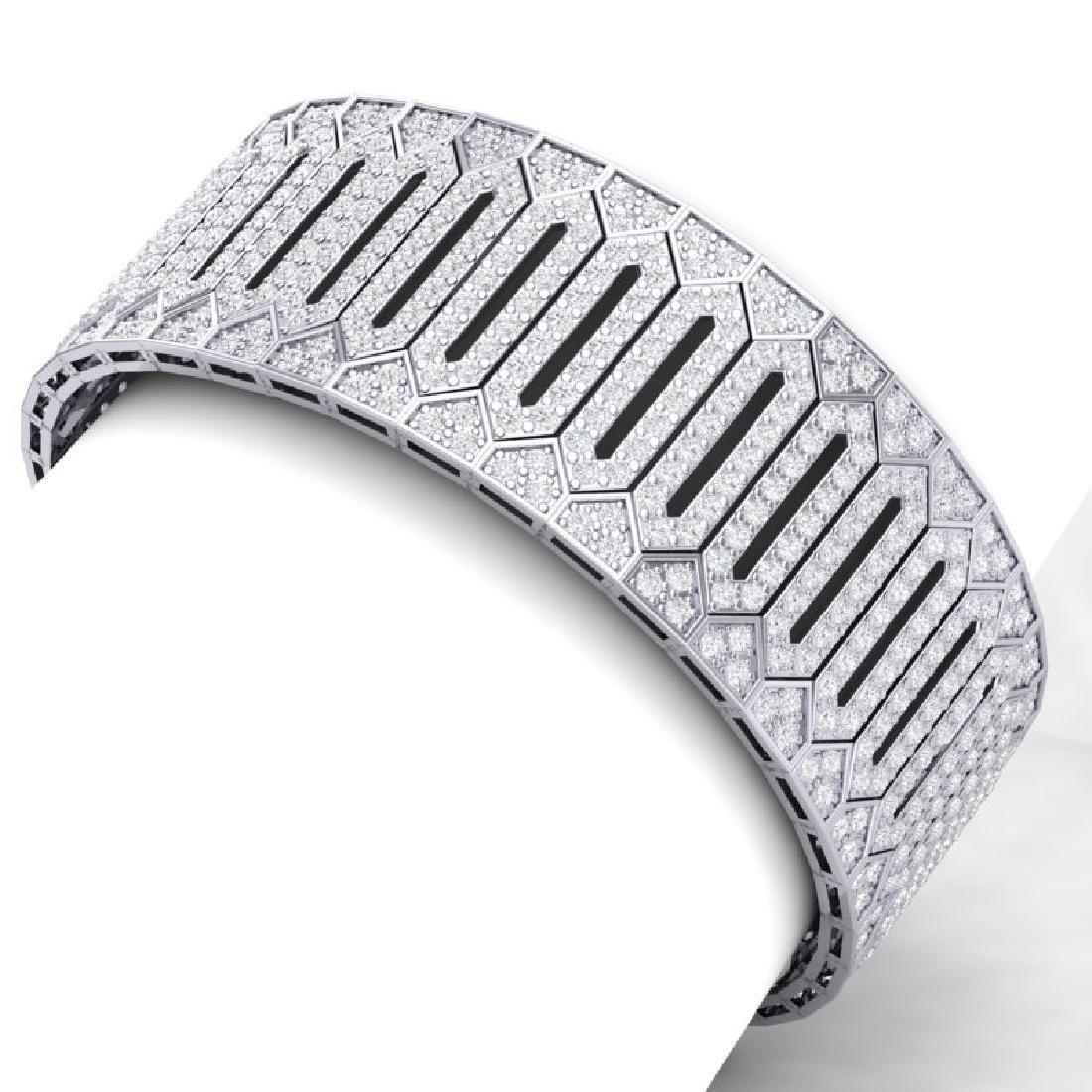23 CTW Certified VS/SI Diamond 8 Inch Bracelet 18K