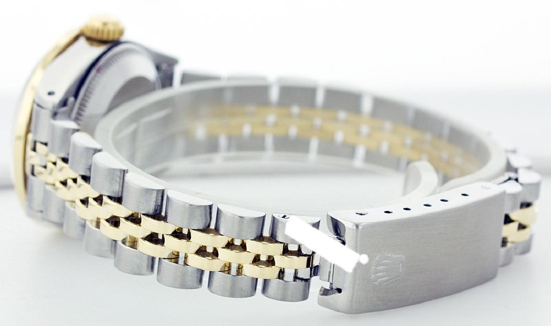 Rolex Ladies Stainless Steel, Diam Dial & Diam/Emerald - 3
