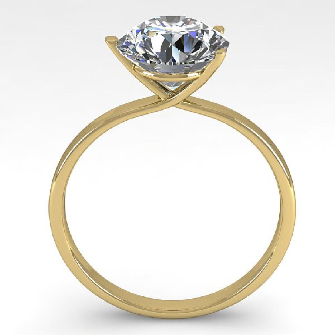 2.01 CTW Certified VS/SI Diamond Engagement Ring 14K - 2