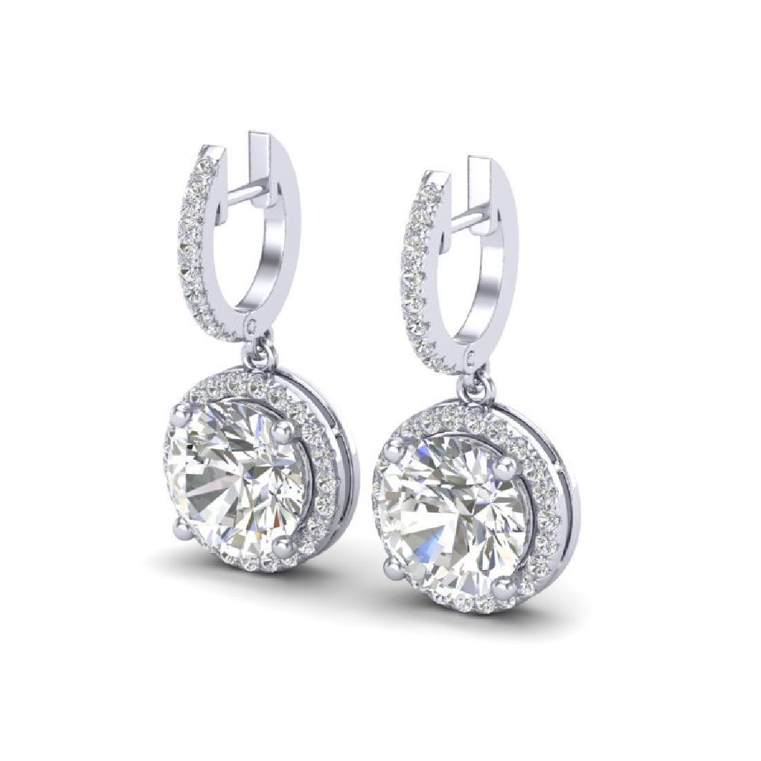 4.50 CTW VS/SI Diamond Designer 18K White Gold