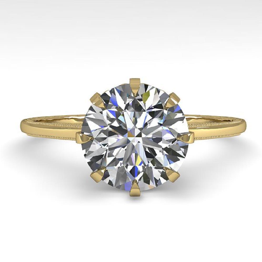 2 CTW VS/SI Diamond Solitaire Engagement Ring 18K