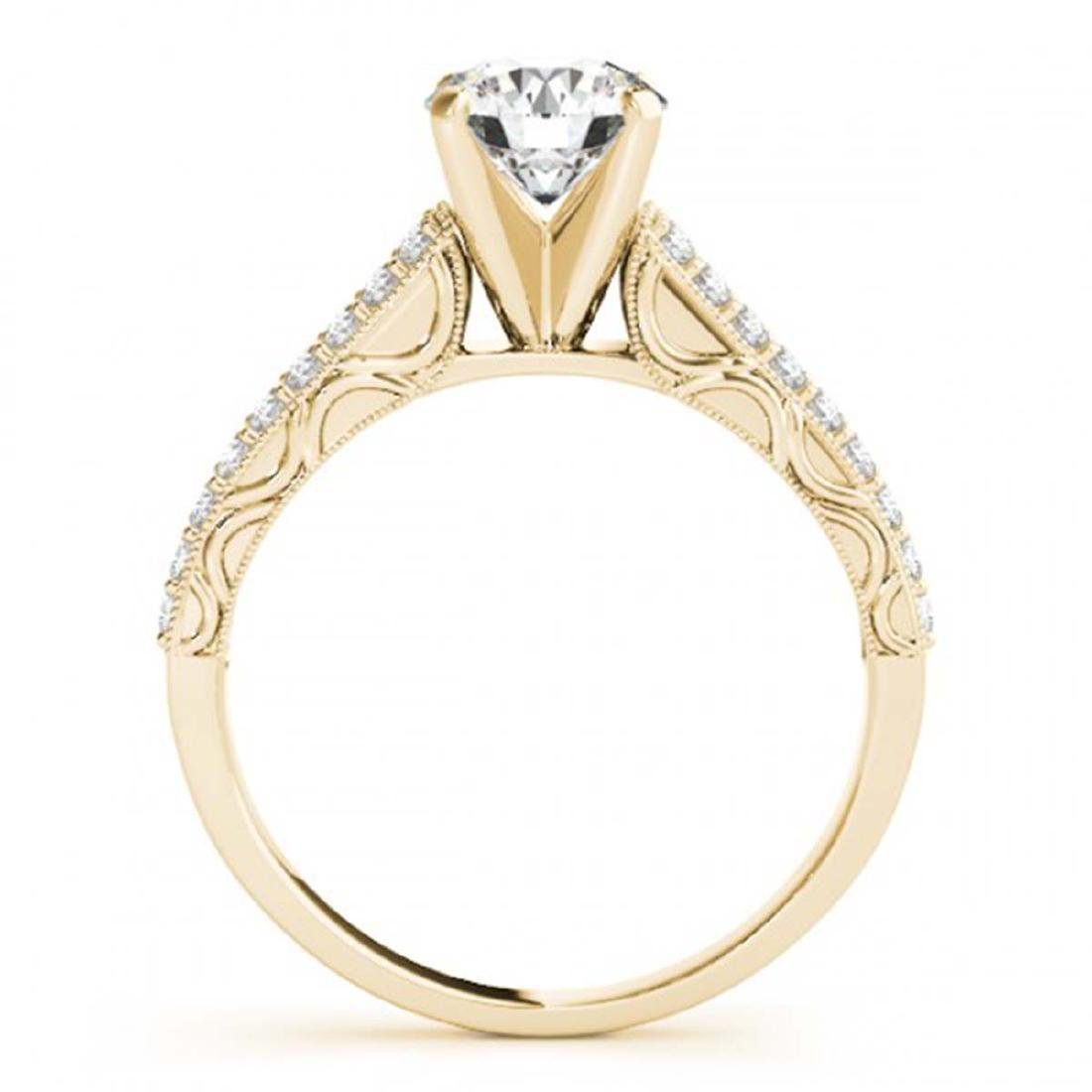 2.5 CTW Certified VS/SI Diamond Solitaire 2Pc Wedding - 3