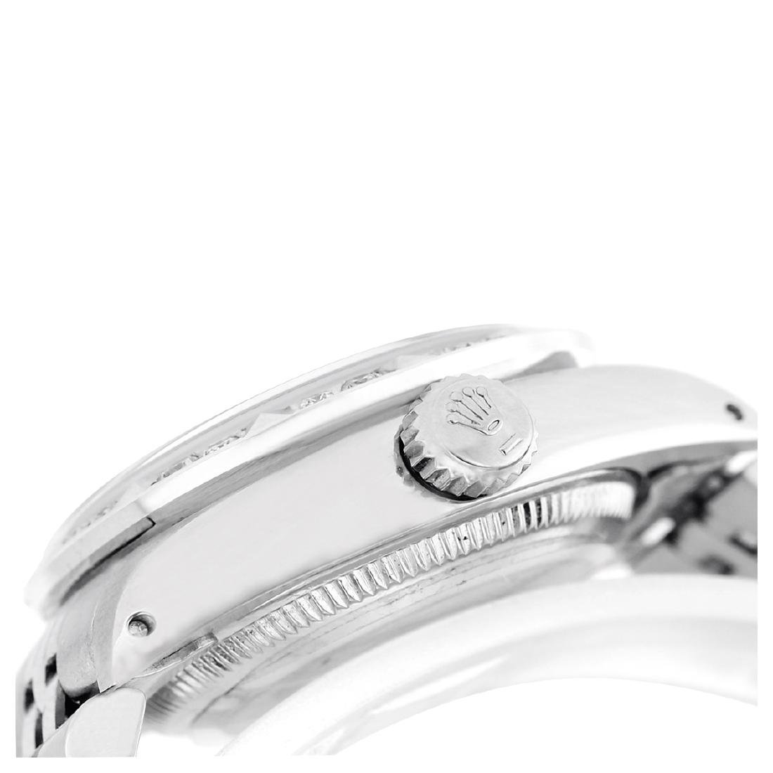 Rolex Ladies Stainless Steel, Diam Dial with Pyrimid - 4
