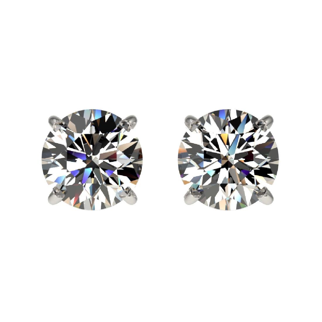 1.02 CTW Certified H-SI/I Quality Diamond Solitaire