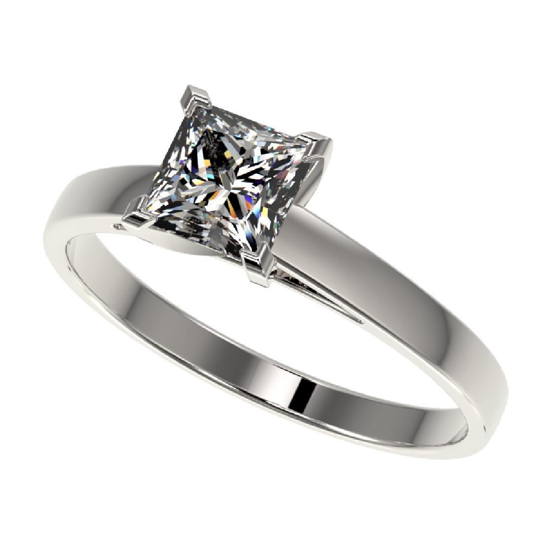 1 CTW Certified VS/SI Quality Princess Diamond