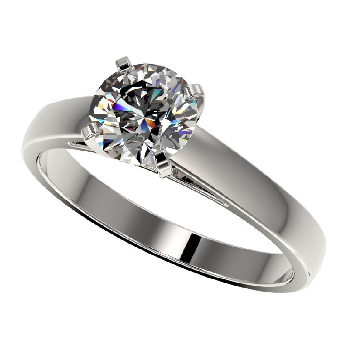 1.25 CTW Certified H-SI/I Quality Diamond Solitaire