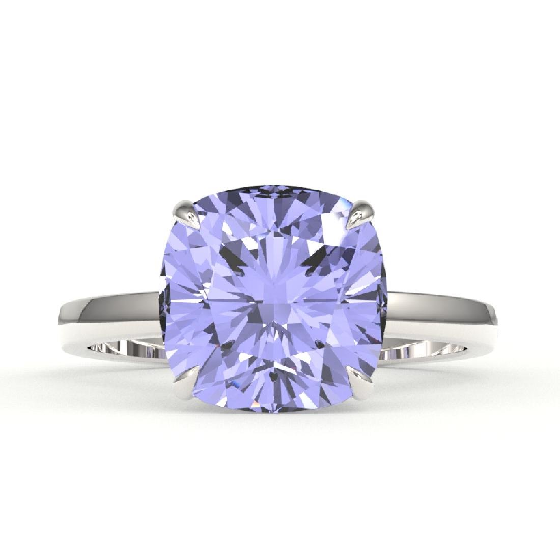 6 CTW Tanzanite Designer Inspired Solitaire Engagement