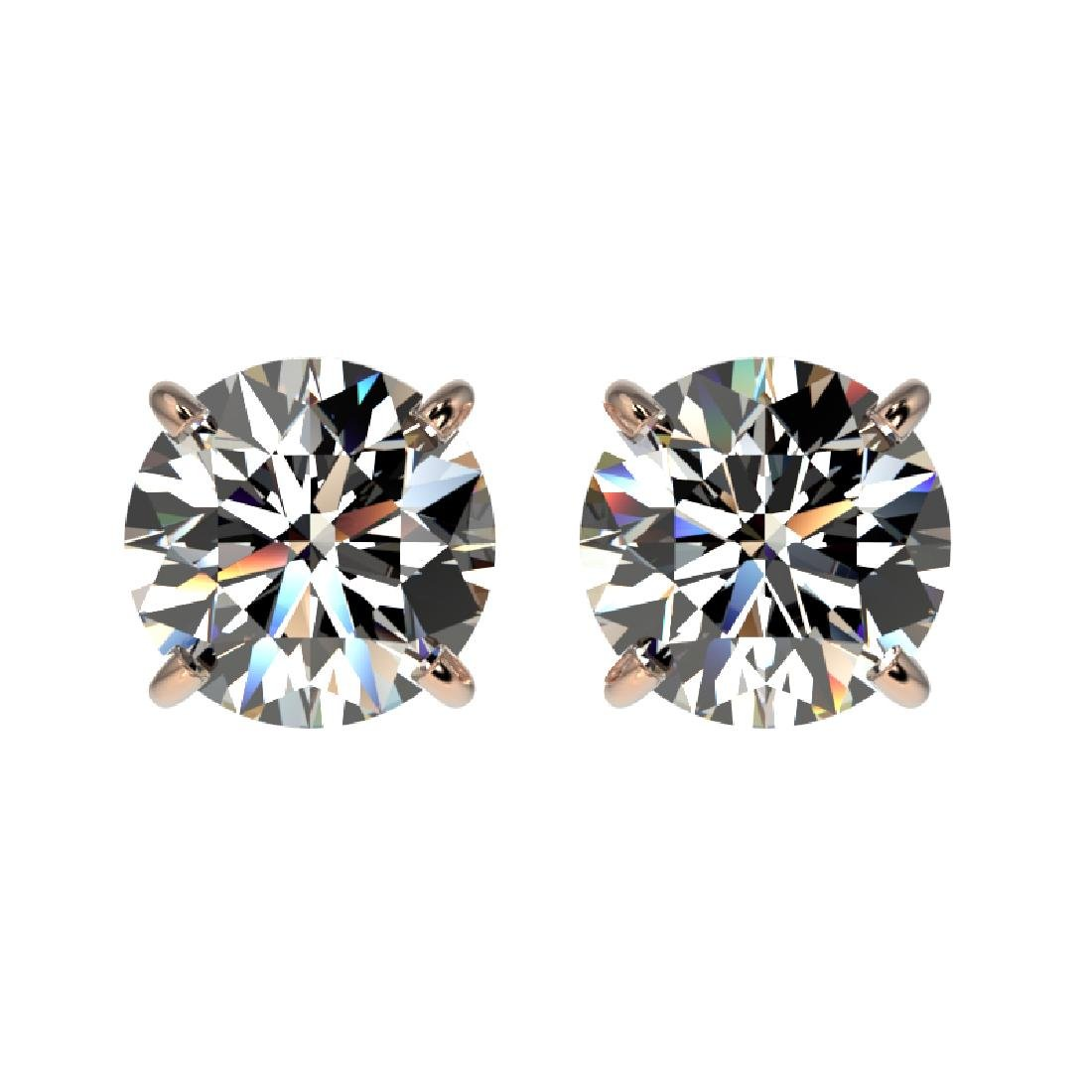 1.57 CTW Certified H-SI/I Quality Diamond Solitaire