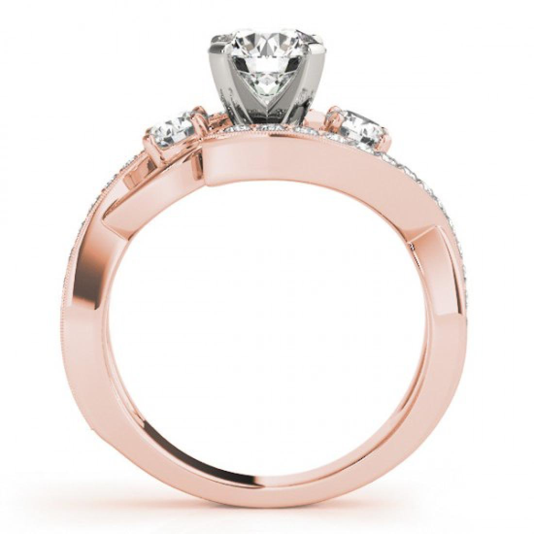 2.01 CTW Certified VS/SI Diamond Bypass Solitaire Ring - 2