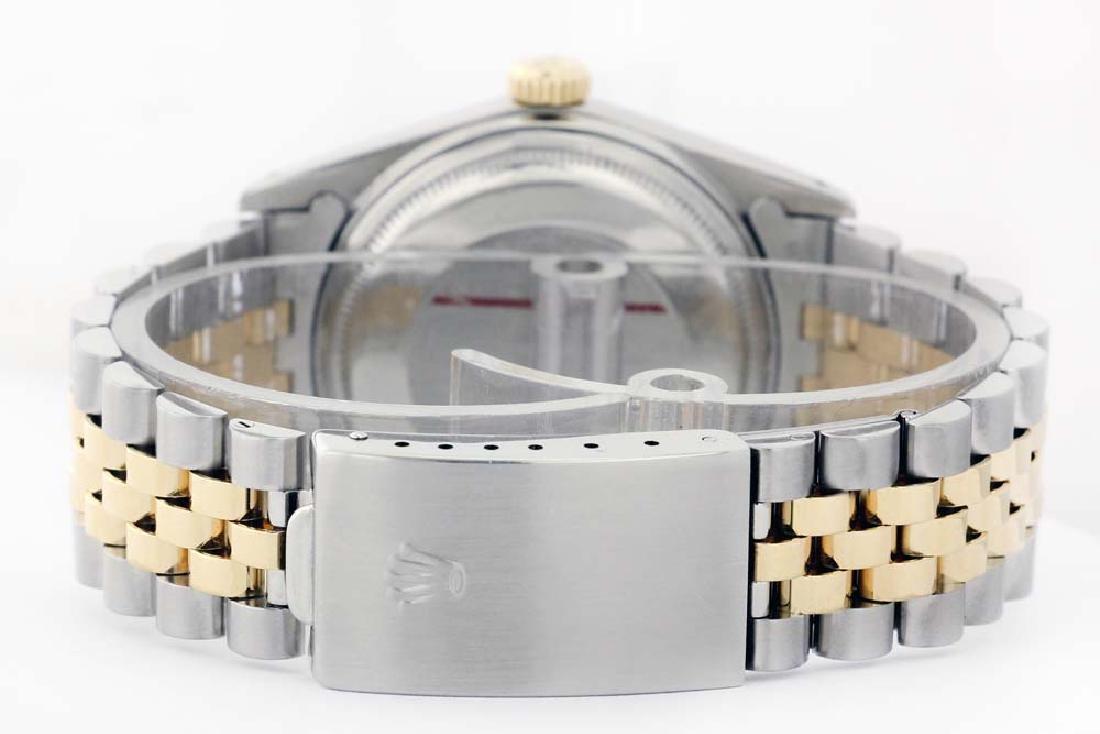 Rolex Men's Two Tone 14K Gold/SS, QuickSet, Diam Pave - 3