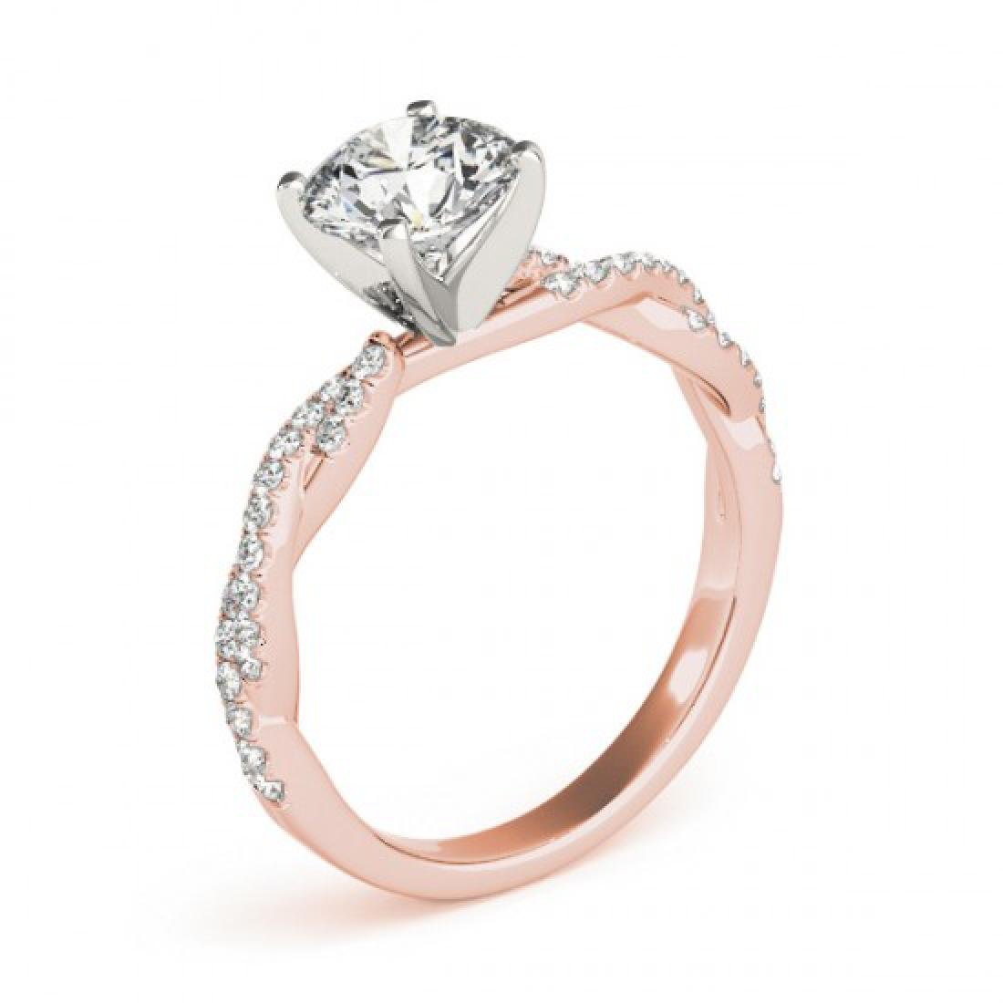 1.25 CTW Certified VS/SI Diamond Solitaire Ring 14K - 3
