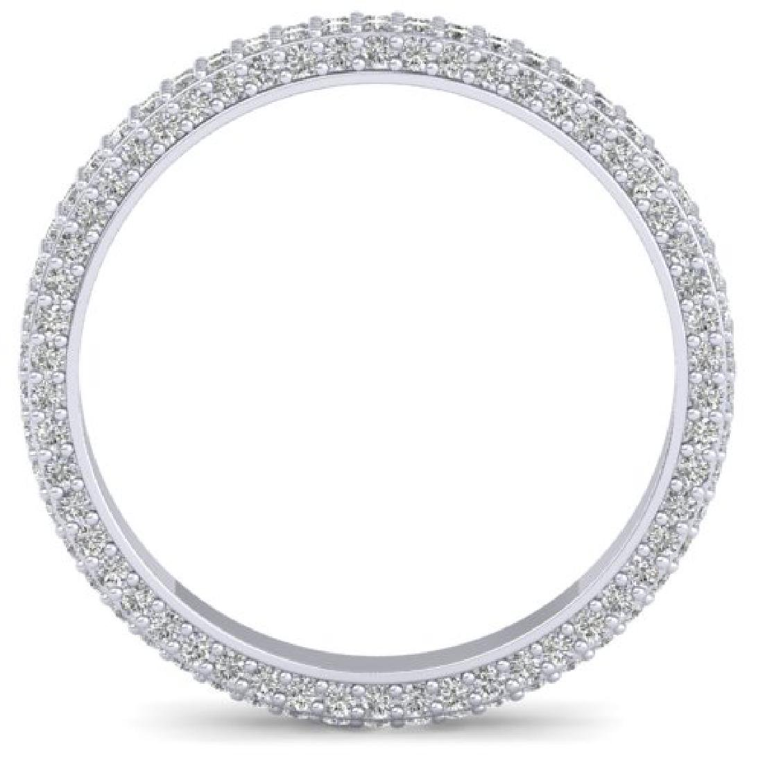 1.75 CTW Certified VS/SI Diamond Micro Eternity Ring - 3