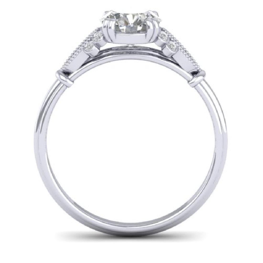 1.15 CTW Certified VS/SI Diamond Solitaire Art Deco - 3