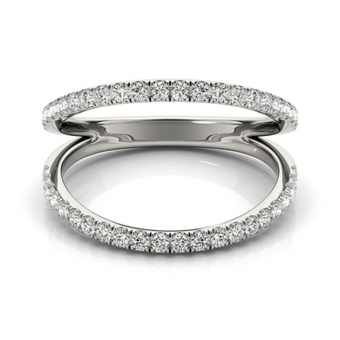 0.33 CTW Certified VS/SI Diamond Fashion Ring 14K White