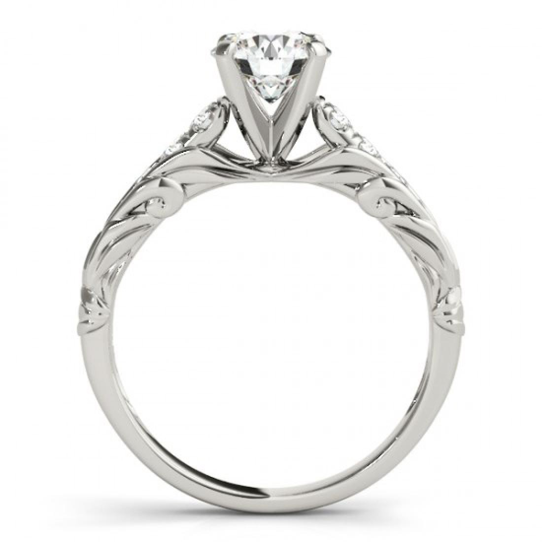 1.2 CTW Certified VS/SI Diamond Solitaire Ring 14K - 2
