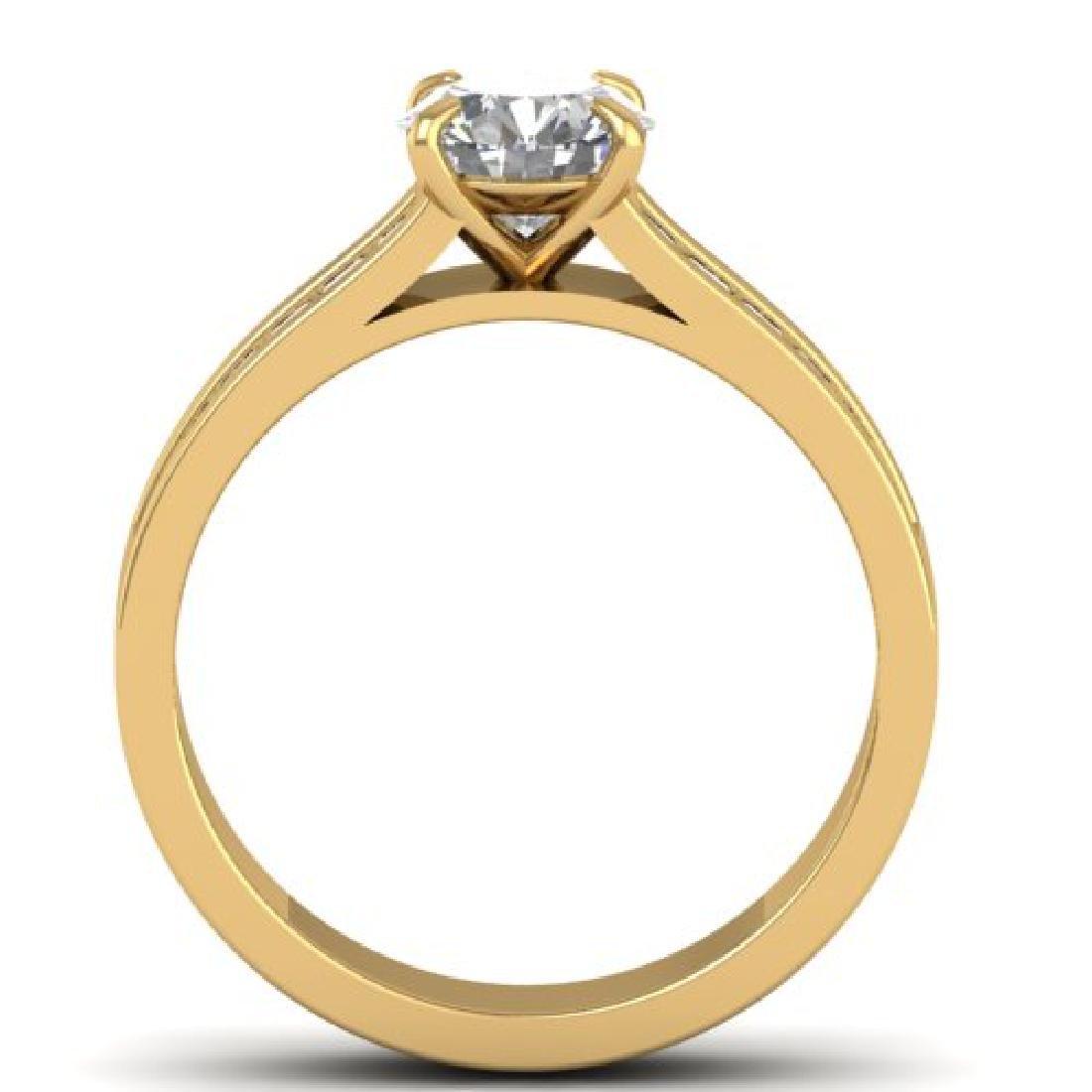 1.75 CTW Certified VS/SI Diamond Solitaire Art Deco - 3